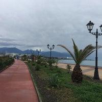 Снимок сделан в Пляж Олимпийского парка пользователем АЛЕНА К. 12/20/2017