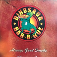 Photo taken at Dinosaur Bar-B-Que by Michael E. on 10/12/2012