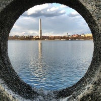 Photo taken at Tidal Basin by Sarah D. on 3/29/2013