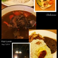 Photo taken at Kopi Luwak by Soedarsono L. on 8/7/2014