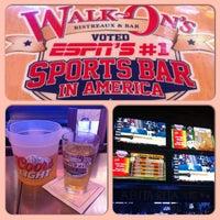 Photo taken at Walk-On's Bistreaux & Bar by Kontinuous E. on 5/14/2013