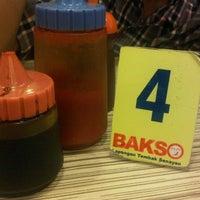 Photo taken at Bakso Lapangan Tembak by Harry M. on 8/18/2013