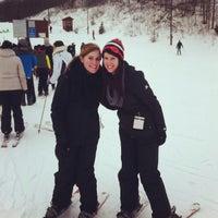 Photo taken at Sunburst Ski Area by Kathryn G. on 2/23/2013