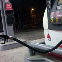 Photo taken at BROAD STREET CITGO by Miss J. on 11/3/2012
