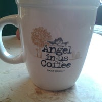 Photo taken at Angel-in-us Coffee by Grace B. on 3/17/2014