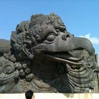 Photo taken at Garuda Wisnu Kencana (GWK) Cultural Park by Fatma on 9/30/2012