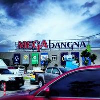 Photo taken at Megabangna by pathom (pop) v. on 7/7/2013