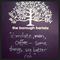 Photo taken at The Borough Barista by Danielle L. on 2/16/2013