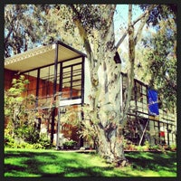 Photo taken at The Eames House (Case Study House #8) by ダイスケ ナ. on 2/11/2013