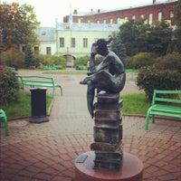 Снимок сделан в Университетский дворик пользователем Александра Ц. 9/18/2012