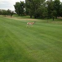 Photo taken at Lake Hills Golf Course by Erik W. on 8/24/2013