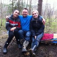 Photo taken at Высоковольтка Лес by Эдуард В. on 5/5/2013