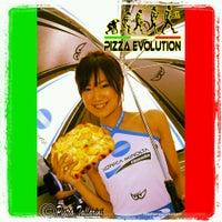 Photo taken at Pizza Evolution by Tallarini P. on 4/2/2013