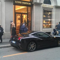 Photo taken at Louis Vuitton by Davide D. on 11/3/2012