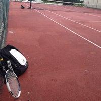 Photo taken at Selenium Twins Tennis Courts by Serdar Y. on 12/4/2013