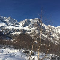 Photo taken at Courmayeur by Manuela C. on 2/1/2017
