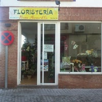 Photo taken at floristeria rosaamarilla by Miguel A. on 11/8/2012