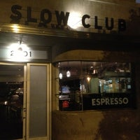Photo taken at Slow Club by Corrie D. on 3/5/2013