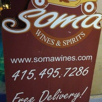 Photo taken at SOMA Wines & Spirits by Corrie D. on 7/14/2013