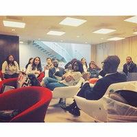 Photo taken at NYU DC by Stephanie on 10/26/2014