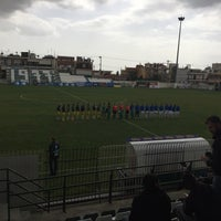 Photo taken at Γήπεδο Αχαρναϊκού by Akis N. on 3/8/2016