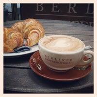 Das Foto wurde bei Berliner Kaffeerösterei von Martins D. am 6/29/2013 aufgenommen