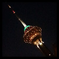 Photo taken at Milad Tower by Fareed J. on 3/13/2013