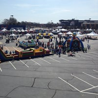 Photo taken at Turner Field - Blue Lot by Carly U. on 3/10/2013