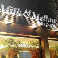 Photo taken at Milk & Mellow Burgers by Giovanna H. on 12/9/2012