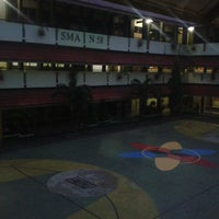Photo taken at SMAN 58 Jakarta by Armandito on 2/18/2014