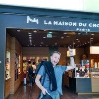 Photo taken at La Maison du Chocolat by Brandon on 7/26/2014