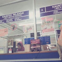 Photo taken at POS Malaysia by Leen N. on 5/29/2013