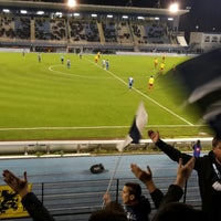 Photo taken at Stade tribut by Bart D. on 11/17/2017