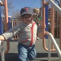 Photo taken at Van Vorhees Playground by jake f. on 4/5/2014