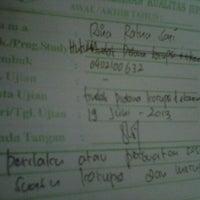 Photo taken at Fakultas Hukum by Rina r. on 6/19/2013