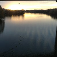 Photo taken at Lady Bird Lake Trail by Steve G. on 12/23/2012