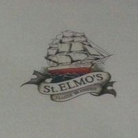 Photo taken at St. Elmo's  Seaside Brasserie by Reem S. on 3/13/2013