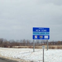 Photo taken at New York - Pennsylvania State Line by Arianna H. on 3/26/2014