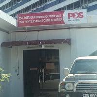 Photo taken at Pejabat Pos (Post Office) by Adam S. on 6/1/2017
