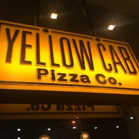 Photo taken at Yellow Cab Pizza Co. by Saara A. on 6/27/2016