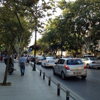 Photo taken at Bağdat Avenue by Berkan B. on 7/20/2013