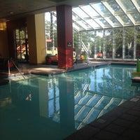 Photo taken at Pool by Sibyl N. on 7/29/2014