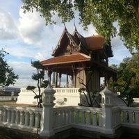 Photo taken at Santichai Prakan Park by Igor K. on 7/13/2013