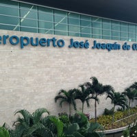 Photo taken at José Joaquín de Olmedo International Airport (GYE) by Ivan Dario F. on 3/11/2013