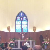 Photo taken at St Augustine's Catholic Church by Brigitte C. on 7/13/2013
