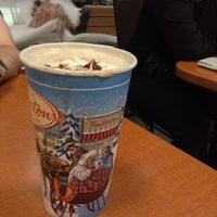 Photo taken at Tim Hortons by Éric on 12/31/2013