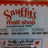 Photo taken at Snuffy's Malt Shop by Lori S. on 10/16/2013