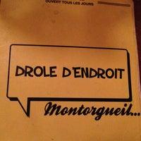 Photo taken at Drôle d'Endroit pour une Rencontre by Romain P. on 12/24/2012