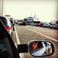 Photo taken at Brittany Ferries Terminal by Andrew M. on 6/9/2013