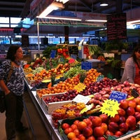 Photo taken at Marché Couvert by Andrew M. on 9/1/2013